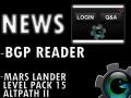 BGP Reader and Mars Lander LP#15