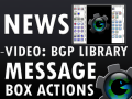BGP Extensions: BGP Library Message Box Actions Video