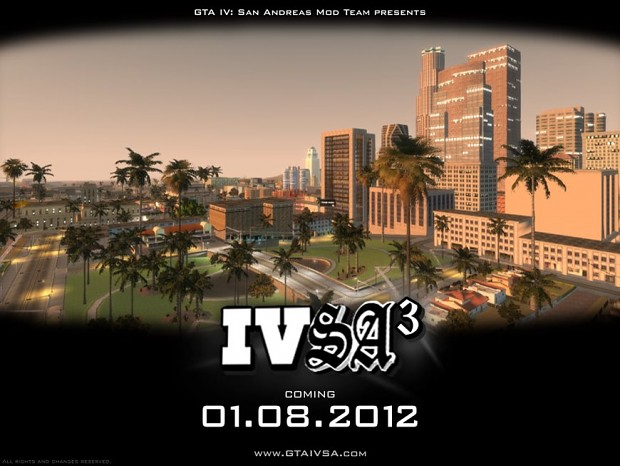 GTA IV: San Andreas BETA 3 coming August 1st!