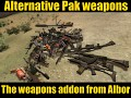 The weapons addon from Albor (alternate)