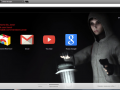 "Google Chrome ""Cry Of Fear Theme"""