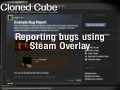 Reporting a Bug With the Steam Overlay