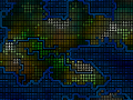 Recolored and shaded world maps.