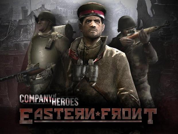 Company of Heroes модификация Eastern Front (Восточный фронт) .