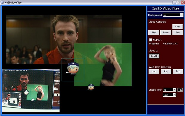 Webcam and Video in Game Engine