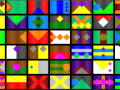 Procedurally generated flags