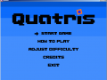 Quatris - Minor bug fixes