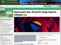 KRUNCH gets some GAMASUTRA love :)