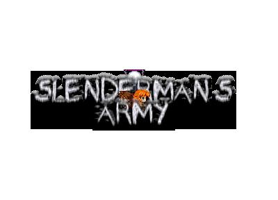 Newest Update: Slenderman's Army V2.5