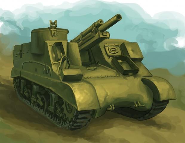 Tank Warfare Mechanics