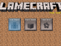 LameCraft MCPE Mod: part 1 - changing all icons in menu expect lamecraft logo