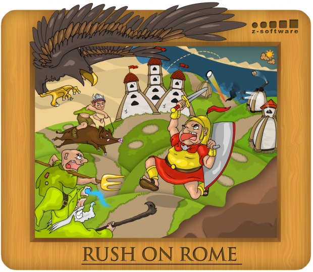 Rush on Rome - Release
