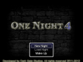 One Night 4 now crowd sourcing!