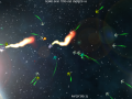 Miniwarp, free wave survival game updated to version 1.0.3