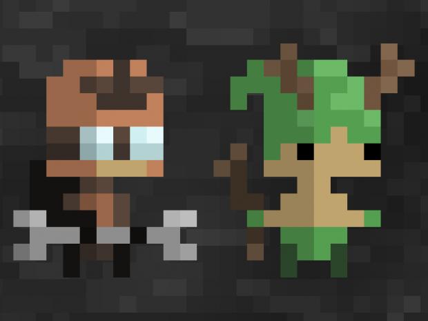 Pixel Kingdom - Two New Units! Engineer & Druid