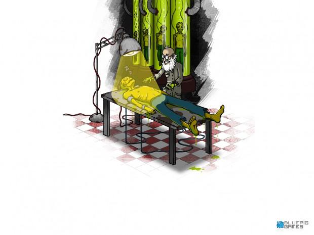Zombie Slice Kirilenko concept art
