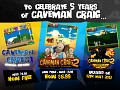 5 Year Anniversary of Caveman Craig