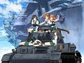 Girls & Panzer Anime Gets 2014 Film, New OVA, Fan Disk