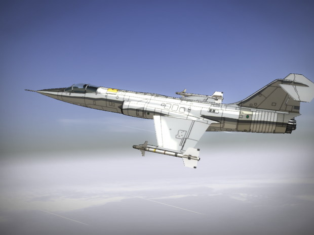 Tutorial 008: F-104 creation