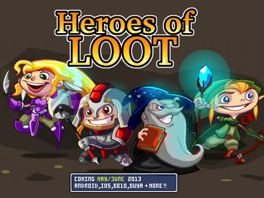 Heroes of Loot Gameplay Preview