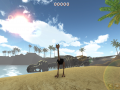 Ostrich Island got a new trailer!