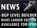 BGP Level Builder available for iPad