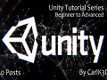 Unity Tutorial Series (Post 1-50)