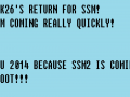 Bluesak26's Return to SSM