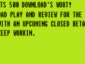 """The 500 Download Record"" -7/23/2013"
