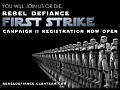 Rebel Defiance 2nd Campaign Registration Now Open