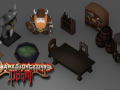 Dark Dungeons of Doom, new models!