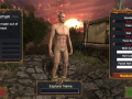 Realm Explorer - HTML5 UI, Character Customization Preview