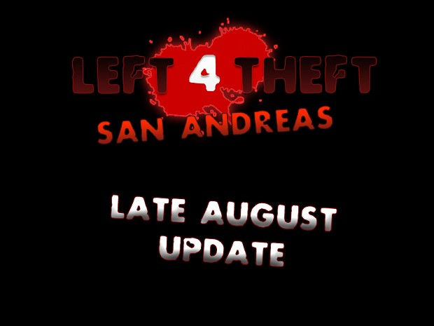 Late August Update