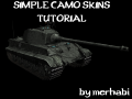 How to make simple camo Skins for Vehicles