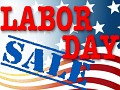 Labor Day SALE coming!