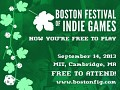 Multilytheus will be at the Boston Festival of Indie Games