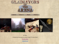 Gladiators of the arena status and website