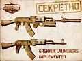 Underbarrel grenade launchers implemented