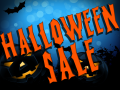 Halloween sale is coming!