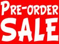 Pre-order sale !