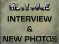 AL.I.V.E, Interview & new photos