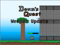Current plans for weapons and combat in Devin's Quest