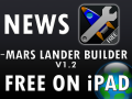 Mars Lander Builder - Now Free on iPad