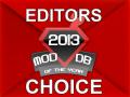 Mod Of The Year 2013 Editor Choice