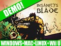 Insanity's Blade 105% funded and continues towards Wii U!
