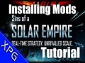 How to Install Mods for Sins of a Solar Empire