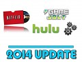 GameJolt, Hulu, & Netflix go LIVE and HD