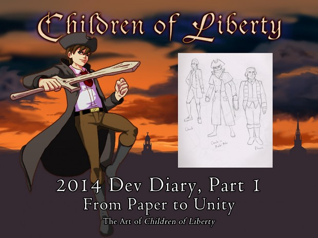 From Paper to Unity: The Art of Children of Liberty