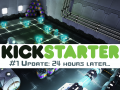 [Kickstarter update #1] 24 hours later...