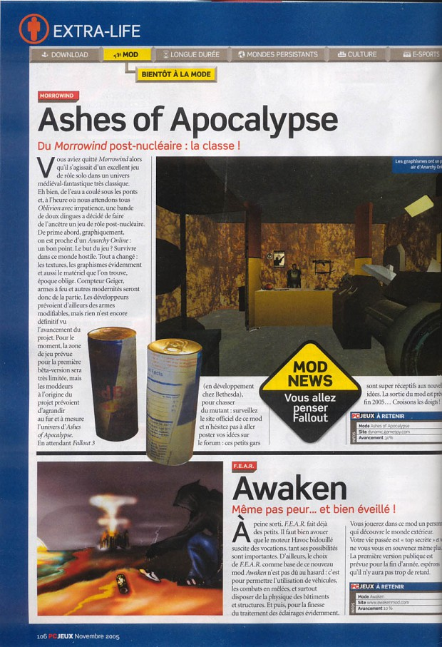 Our First Magazine Appearance
